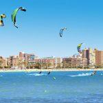 Spanska hotell vid havet
