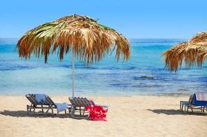 Strand på Cypern