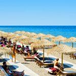 Strand på Rhodos