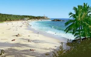strand i Indien