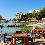 Strandrestaurang på Mallorca